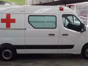 Renault Master Ambulancia Uti L1h1 Simples Remoção 2019