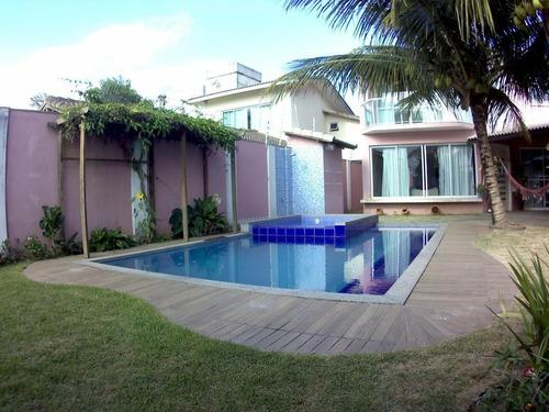 Casa Com 4 Dormitórios À Venda, 264 M² - Enseada Azul - Guarapari/es - Ca0432