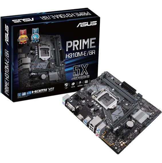 Core I3 8100 Lga 1151 +asus Prime H310m-k + 8 Gb Ddr4 Hyper