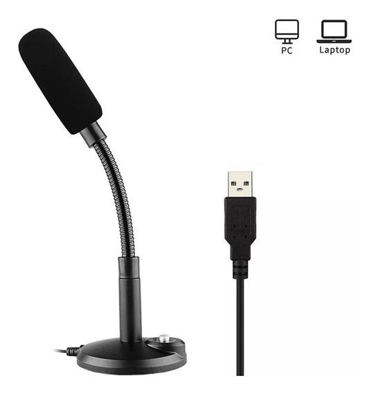 Microfone Condensador Usb Para Notebook