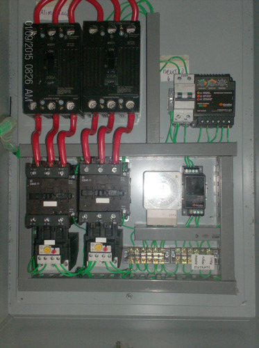 Tablero De Control Motor O Bomba 0 A 500 Hp