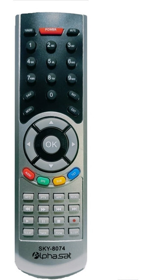 Controle Remoto Receptor Digital Sky 8074