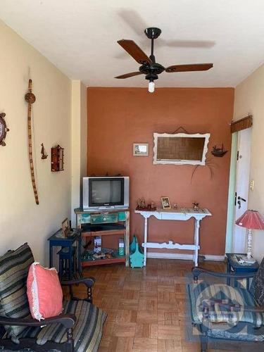 Apartamento Com 1 Dormitório À Venda, 50 M² Por R$ 180.000 - Itararé - São Vicente/sp - Ap5931