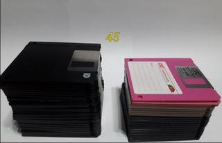 Lote De 45 Diskettes Para Bricolaje