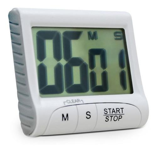 Timer E Cronometro Com Imã Contagem Progressiva E Regressiva