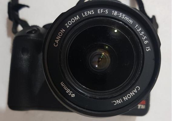 Canon Máquina Dslr Rebel T1 I + Lente Canon 75-300 Mm