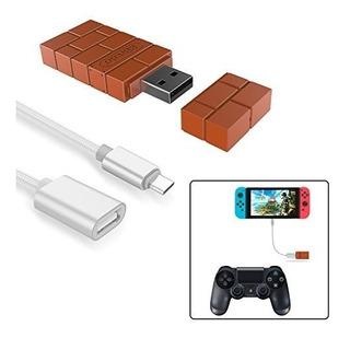 Adaptador De Controlador Inalámbrico 8bitdo Para Nintendo Sw