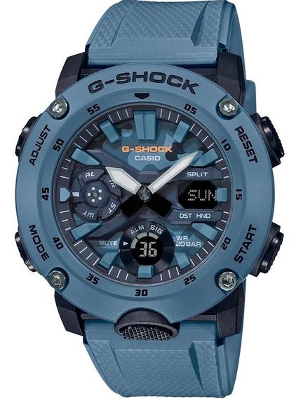 Relógio G-shock Ga-2000su-2adr Carbon Nota Fiscal E Garantia