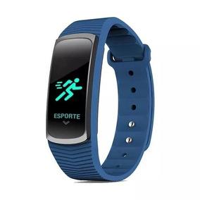 Relógio Mormaii Smart Fit Gps Mob3ab/8a Azul Com Nf-e