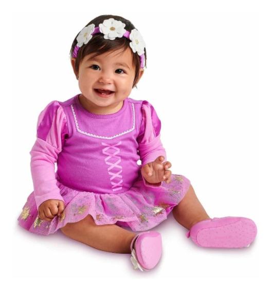 Disfraz Vestido Pañalero De Rapunzel Para Bebé Disney Store