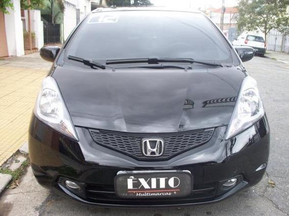 Honda Fit Lx 1.4 Flex Automatico Preto 2012