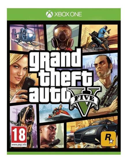 Gta V Xbox One Grand Theft Auto 5 Mídia Digital - Online