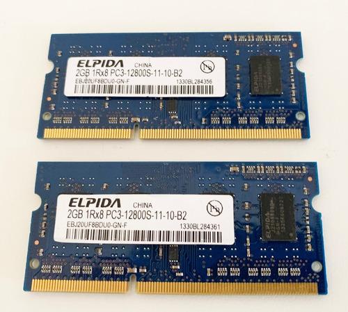 Imagem 1 de 4 de Apple Memoria Elpida 4gb Ddr3 12800 Macbook Macmini iMac