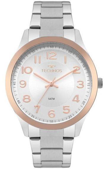 Relógio Technos Feminino Delicado Versátil Dia A Dia