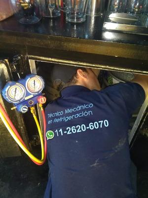 Service Heladeras Comerciales Reparacion Carga Gas Tecnico