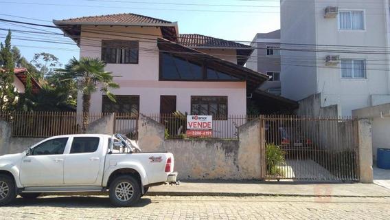 Casa Com 3 Dormitórios À Venda, 174 M² Por R$ 495.000,00 - Velha - Blumenau/sc - Ca0511
