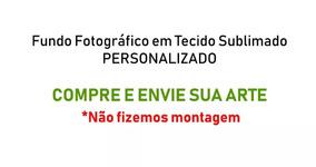 Fundo Fotográfico Tecido Sublimado Personalizado 3,0m X 1,7m
