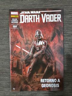 Hq Gibi Quadrinhos Star Wars Darth Vader 004 - Panini Comics