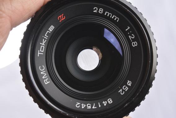 Lente Tokina 28mm Rmc 1:2.8 Mount Md Full Frame Prime Lens