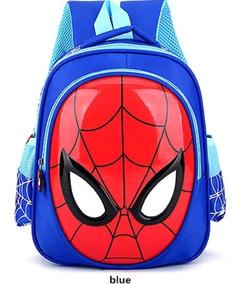 Bolso Escolar Mochila 3d Hombre Araña Spider-man