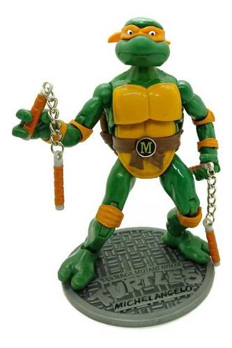 Tmnt Tortugas Ninja Michelangelo Figura En Bolsa