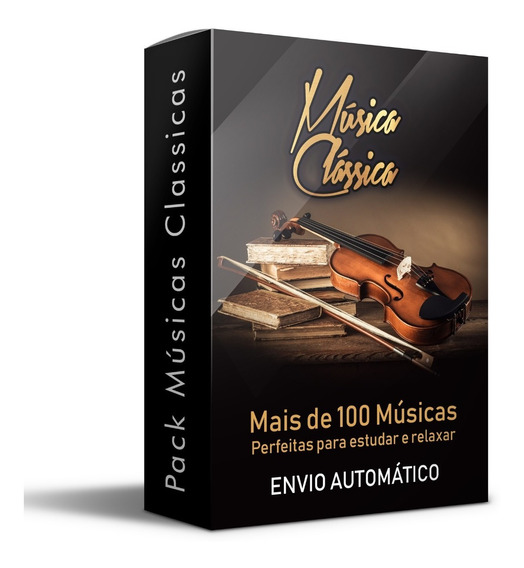 100 Musicas Clássicas Mp3 Relaxante Estudos Envio Já