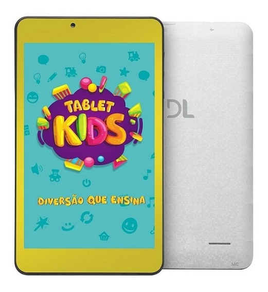 Tablet Dl Kids C10 7 Wi-fi 8gb Câmera Frontal Bluetooth