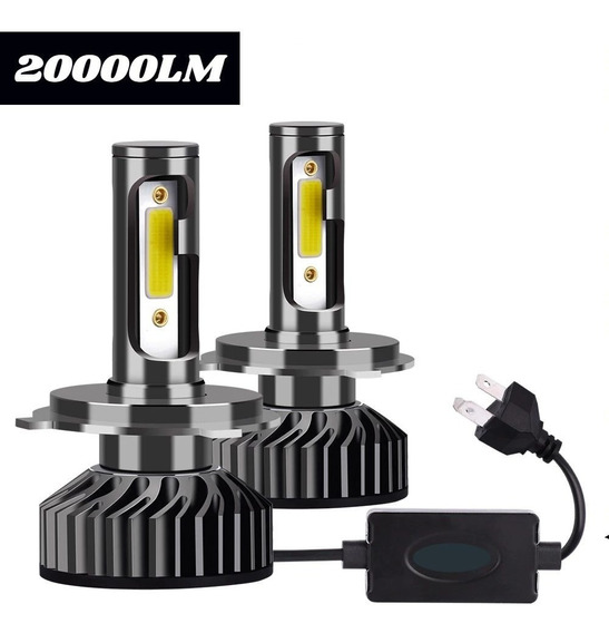 Super Led H1 H3 H4 H7 H8 H11 Hb4 Hb3 20000lm 6500k Mini