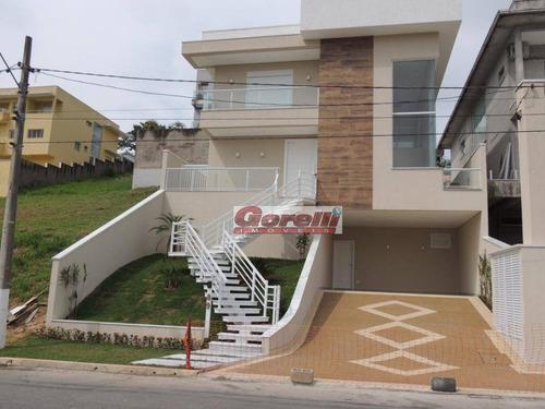 Casa Com 3 Dormitórios À Venda, 256 M² Por R$ 1.600.000,00 - Condomínio Real Park - Arujá/sp - Ca1495