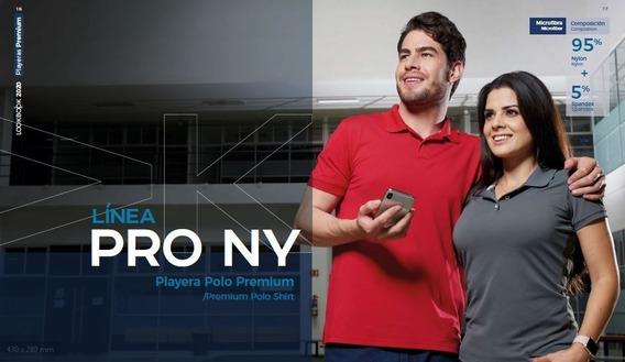 Playera Polo Premium 95% Nylon 5% Spandex Dam Y Cab Pro Ny