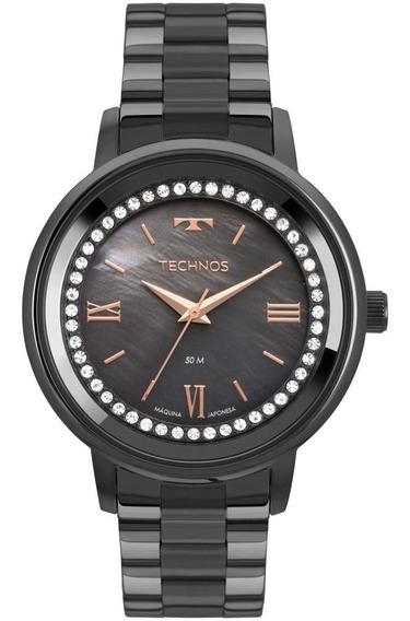 Relógio Feminino Technos Preto 2036mkz/4p