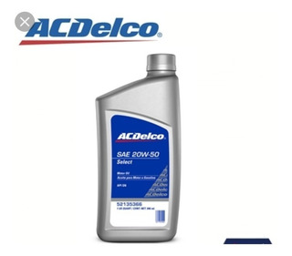 Aceite 15w40 Mineral Acdelco
