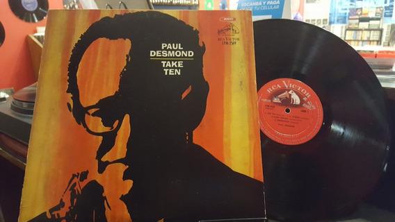 Paul Desmond Take Ten Lp Disco Vinilo Jazz Ex