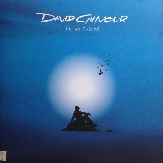 David Gilmour On A Island Lp 180gr Importado Lacrado