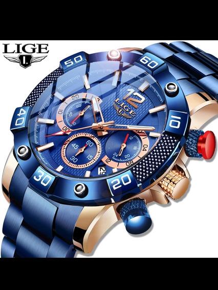 Relogio Original De Luxo Lige