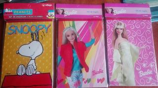 Esquelas Barbie Y Snopy