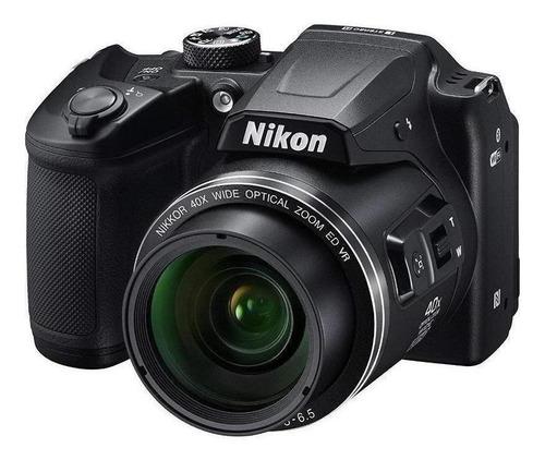Imagen 1 de 4 de Nikon Coolpix B B500 compacta color  negro