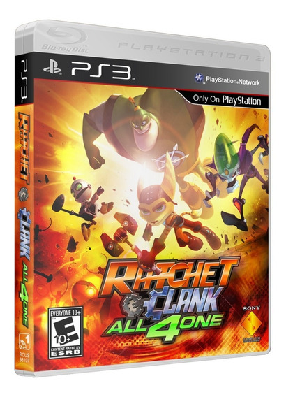 Game - Ratchet & Clank: All 4 One - Ps3