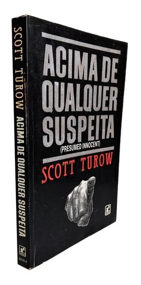 Livro Acima De Qualquer Suspeita Scot Turow Suspense Romance