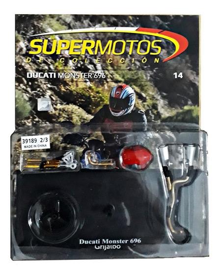 Supermotos De Colección N°14   Ducati Monster 696 Parte 2/3