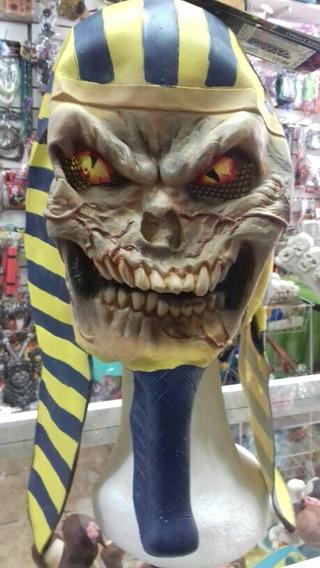 Mascara Faraon Zombie. Estupenda Completa Latex. Chirimbolos