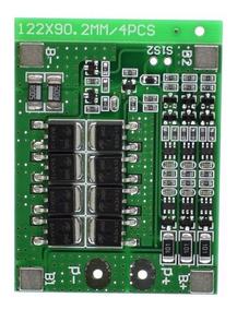 Proteção Bms 3s 3x Baterias Lítio Pcb Bms 25a 2 Unidades