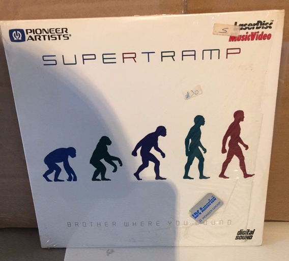 Supertramp - Brother Where You Bound . Laserdisc Impecable