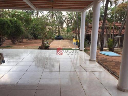 Chácara Com 4 Dormitórios À Venda, 5000 M² Por R$ 650.000,00 - Jardim Veneza (zona Rural) - São José Do Rio Preto/sp - Ch0067