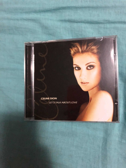 Cd Celine Dion - Lets Talk About Love
