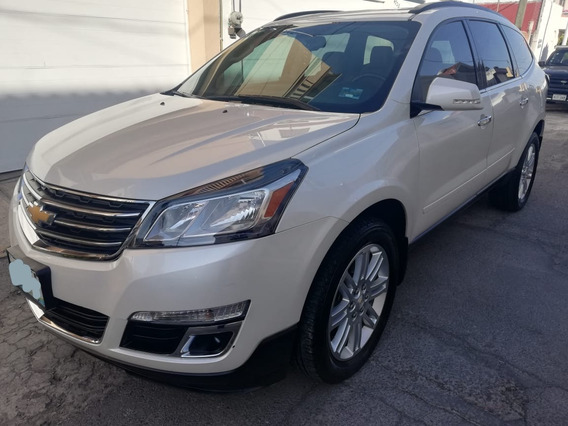 Chevrolet Traverse 3.6 Lt V6 7 Pas At 2014 - Piel