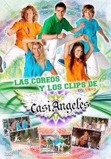 Casi Angeles Las Coreos Y Los Videoclips 2009 Dvd Nuevo