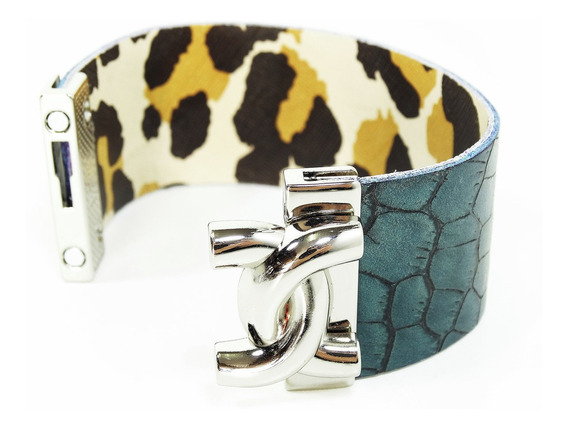 Pulseira Bracelete Magnético Com Elos