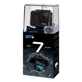 Gopro Hero7 Black 4k Aprova Dagua Câmera Digital De Video