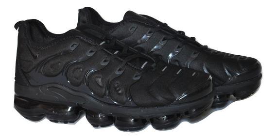 Kp3 Zapatos Caballeros Nike Vapormax Ultra Plus Todo Negro